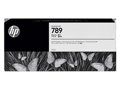HP 789 775-ml Magenta Latex Designjet Ink Cartridge (HP) CH617A