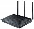 Роутер ASUS RT-AC66U WiFi Router (WLAN 1.3Gbps, Dual-band 2.4GHz+5.1GHz, 802.11ac+4xLAN RG45 GBL+1xWAN GBL+2xUSB2.0) 3x ext Antenna)