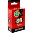Картридж струйный Lexmark 18LX042E color for Z55/Z65 (высокое разрешение) (Lexmark)