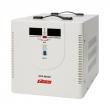 Стабилизатор напряжения Powerman AVS 8000D 8000ВА, максимальный входной ток 40А, 1 фаза, подключение к сети - клеммная колодка, синусоидальная форма выходного напряжения, номинальный диапазон входного напряжения 140...260В, КПД 98%, цифровая индикация вхо