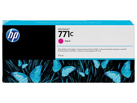 HP B6Y09A Картридж струйный №771С 775-ml Magenta для HP DJ Z6200