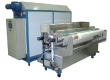 Линия Rimslow Wash-X 2200. предназначена для нанесения любых пропиток на различные виды ткани (хлопок, вискоза, шелк, полиамид, полиэстер и т.д.) и промывки ткани после печати. Он состоит из пяти независимых модулей: размоточного устройства, бака предвари