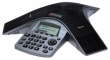 Polycom (SoundStation Duo dual-mode conference phone w/ factory disabled media encryption including Power Supply, Power Cord with CEE 7/7 plug, Power Injection Module with 6.4m combined PSTN/Cat5 cable, 2.1m RJ-11 PSTN cable, 2.1m Cat5 cable and Quick Sta
