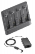 Four bay spare battery charger kit. Includes Four bay spare battery charger (SAC2000-4000CR), Power Supply (PWRS-14000-148R) 3 wire grounded AC line cord sold separately (Motorola Solutions) KT-SAC2000-4WW