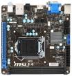 Материнская плата MSI H81I, H81, Socket 1150, DDR3, mini-ITX