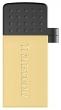 Transcend (Флеш-накопитель Transcend 16GB JETFLASH 380 (Gold) micro-USB / USB2.0) TS16GJF380G