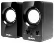 Sven (SVEN 354, чёрный, USB, акустическая система 2.0, мощность 2х2 Вт(RMS)) SV-0120365BL