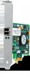 Net Card Allied Telesis PCI AT-2911SX/LC-001 10/100Mbps Single port Fiber Gigabit NIC for 32-bit PCIe x1 bus, LC, RoHs Version