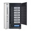 Накопитель Thecus NAS 7 x 3.5'' SATA, Intel® Pentium® Dual Core 2.9GHz, 4Gb, 2 LAN (Gb), Multiple RAID, 10 GbE, iSCSI, HDMI, VGA (N7710-G)