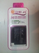 Аккумулятор для телефона/ DEJI/ G6 (BB00100)/ 1400MAH/ for HTC (LEGEND/Google G6/G8/G7MINI/A3333/A6363/A6388/T8686)/ RTL