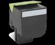 Lexmark (Картридж Lexmark 80C8XK0 чёрный с тонером сверхвысокой ёмкости для CX510x, LRP (8K))