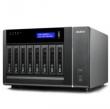 Видеорегистратор сетевой Qnap (VS-8124 Pro+) IP-система видеонаблюдения с 24 каналами для записи видео и восемью отсеками для жестких дисков