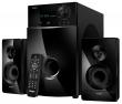 Sven (SVEN MS-2100, черный, акустическая система 2.1, мощность (RMS): 50Вт + 2х15Вт, SD/USB, FM-радио, VFD-дисплей, пульт ДУ) SV-012236