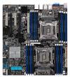 """ASUS (MB ASUS Z10PE-D16/4L Intel C612, Dual LGA-2011-3, Xeon E5-2600 v3, 16xDDR4 (512GB/RDIMM), VGA: Aspeed AST2400, 3xPCIex16 (x16)+2PCIe x8(x8), 4xGBL+1Mgmt LAN, ASMB8-iKVM onboard, 10 x SATA3 ports (RAID 0,1,10, 5), EEB (12""""x13""""))"""