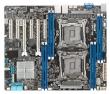 ASUS (MB ASUS Z10PA-D8 Intel C612б 2x LGA-2011-3, Xeon E5-2600v3, 8xDDR4/2133 (512GB/LRDIMM), VGA: Aspeed AST2400 32 MB, 2xPCIex16 (x16)+4xPCIex8, 3xUSB 2.0+3xUSB 3.0, 1xCOM port, 2xGBL+1Mgmt LAN, ASMB8-iKVM onboard, 10 x SATA3 ports (RAID 0,1,10, 5), ATX
