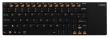 Клавиатура Rapoo E2700 черный USB Беспроводная 2.4Ghz Да Touch 11286