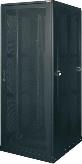 Комплект дверей передняя и задняя перфорированные TLK для шкафа серии TFE 33U шириной 800мм (TFE-4-3380-PP-BK)