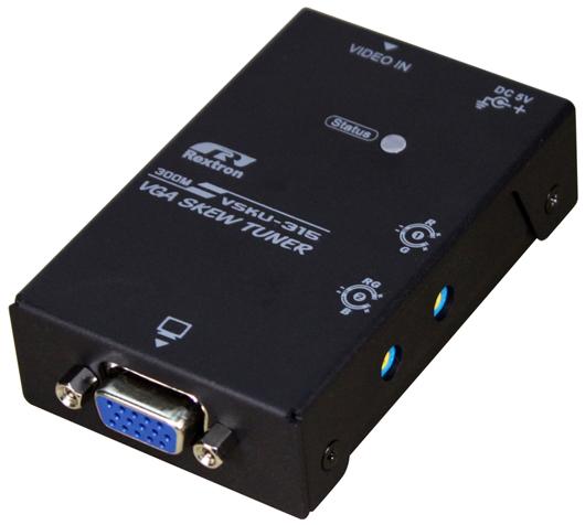 RGB cтабилизатор частот, тип сигнала VGA, 1080h @ 300м (VSKU-315) Rextron