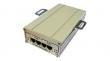 TFortis FSE-2G+ (2-портовый инжектор РоЕ+ 802.3at для питания двух видеокамер РоЕ+ (30W) или одной PTZ-видеокамеры РоЕ+ (60W))