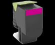 Lexmark (Малиновый картридж с тонером сверхвысокой ёмкости для CX510x, LRP (4K)) 80C8XM0