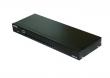 """NKI3116 IP KVM Переключатель Netko, 19"""", 16 портов, VGA, PS2, USB, OSD, RJ45 разъем - максимальная длина кабеля (приобретается отдельно) - 40м, в комплекте: 16 донглов (VGA+USB ), NKS3116 (KVM), NKI3101 (IP модуль), черный"""