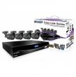 Комплект KGUARD EL421-4HW212B DVR H.264 Cloud HDMI QRC 960H 4кан.+4кам.