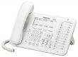 Цифровой системный телефон Panasonic KX-DT546RUW белый