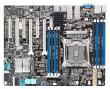 ASUS (MB ASUS Z10PA-U8/10G-2S Intel C612, 1x LGA-2011-3, Xeon E5-1600 v3/2600v3, 8xDDR4/2133 (512GB/LRDIMM), VGA: Aspeed AST2400 32 MB, 2xPCIex16 (x16)+3xPCIex8+1xPCI-32, 3xUSB 2.0+3xUSB 3.0, 1xCOM port, 2xGBL+1 x Dual Port BCM57840S 10GbE LAN+1Mgmt LAN,