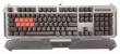 Клавиатура A4 Bloody B740A серебристый/черный USB Gamer LED (подставка для запястий)