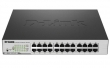 DGS-1100-24P/ME/B1A (Коммутатор 12-порторв 10/100/1000Base-T PoE + 12-портов 10/100/1000Base-T Metro Ethernet)