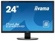 """Монитор Iiyama E2482HD-B1, 24"""" (1920x1080), TN, VGA (D-Sub), DVI"""