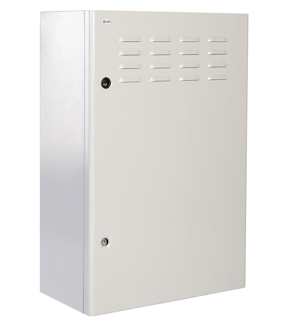 Шкаф настенный ЦМО уличный всепогодный ШТВ-Н-6.6.3-4ААА 6U 600x330мм пер.дв.стал.лист несъемные бок.пан. 57кг серый
