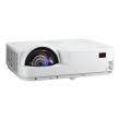 NEC projector M333XS DLP, SHORT-THROW, 1024x768 XGA,3300lm, 10000:1, 3,7kg, D-Sub, HDMI, RCA, RJ-45, Lamp:8000hrs