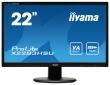 "Монитор Iiyama X2283HSU-B1DP, 21.5"" (1920x1080), MVA, VGA (D-Sub), DVI, DP"