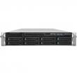 Intel (Intel® Server System R2308WTTYS 2U, 2 x Socket 2011-R3, Xeon E5-2600 v3/v4, Intel C612, 24xDDR4 ECC REG DIMMs  1600, 1866, 2133 MHz, 2 х 10-Gbe, 8xHS HDD 3,5' SATA/SAS, 2xPCI-E x4+7xPCI-E x8+IOM Conn+RM Conn, 1x1100 Wt (1+0), no rails, no RMM) R230