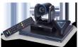 Система для организации видео конференцсвязи, до 4х соединений, поворотная камера, 12х оптический Zoom, FullHD (EVC350) AVer вкс