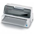 Матричный принтер OKI ML6300FB-SC: 24-х игольчатый, 106 колонок, скорость печати до 450 зн./сек., прямая подача бумаги, USB (43490003)