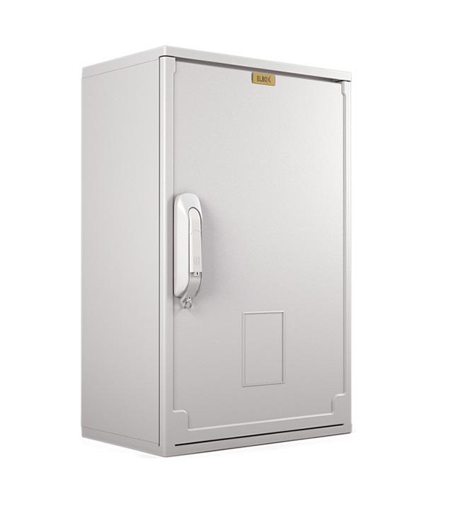 Электротехнический шкаф полиэстеровый IP44 (В800*Ш500*Г250) EP c одной дверью (EP-800.500.250-1-IP44)