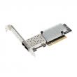 ASUS (PEI-10G/82599-2S 10GbE SFP+ Network Adapter, Fiber, Dual Port, Intel 82599ES, PCI-E Gen3 x8, PXE boot, iSCSI boot)