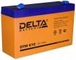 Аккумуляторная батарея Delta (DTM 612)