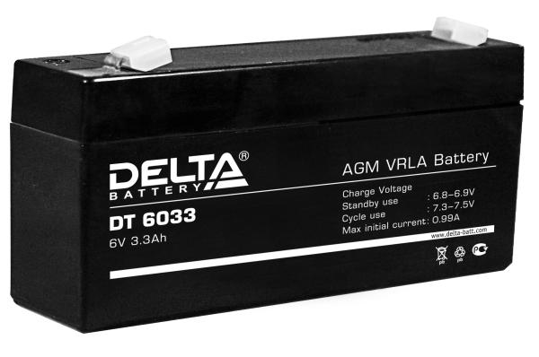 Аккумуляторная батарея Delta (DT 6033)