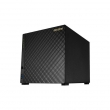 ASUS (ASUSTOR AS1004T (4-bay NAS, Marvell ARMADA-385 Dual Core, 512MB DDR3, GbE x1, USB 3.0, WoL)) 90IX00K1-BW3S10
