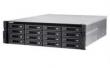 QNAP (SMB QNAP TS-EC1680U-i3-4GE-R2 NAS, 16 bay w/o HDD , ECC-ram, 2x10GbE (SFP+), rack-mount, 2 PSU. Dual-core i3-4150 3.5 GHz, 4GB DDR3 ECC RAM. W/o rail kit RAIL-A03-57)