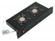 """CONTEG (19"""" вентиляторный модуль, 2 вентилятора, с термостатом) DP-VEN-02 - H"""