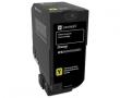 Картридж Lexmark с тонером желтого цвета (3000) CX725de/CX725dhe/CS725de/CS720de (74C50YE) LEXMARK