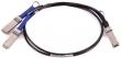 Mellanox (Mellanox® passive copper hybrid cable, ETH 100Gb/s to 2x50Gb/s, QSFP28 to 2xQSFP28, 1m, 30AWG) MCP7H00-G001