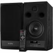 Sven (SVEN MC-20, чёрный, акустическая система 2.0, мощность 2x45Вт (RMS), FM-тюнер, USB/microSD, дисплей, пульт ДУ, Bluetooth, Optical) SV-014438