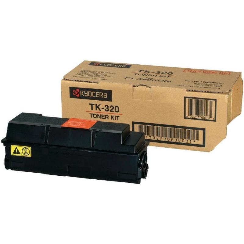 Тонер-картридж TK-320 15 000 стр. Black для FS-3900DN/4000DN (1T02F90EUC) KYOCERA-MITA