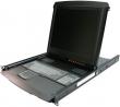"""Панель LCD REXTRON серии Integra/integraPro 17""""(1280х1024), 1U, 19"""", Keyb RU, TouchPad, C-36 разъем, черная, в коплекте: 19"""" салазки, крепление для модулей, БП, инструкция (ENG), LED подсветка характеристики Потребляемая мощность меньше, чем обычный ЖК-мо"""