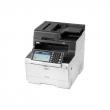 МФУ OKI MC573dn 46357102, лазерный/светодиодный, цветной, A4, Duplex, Ethernet, факс